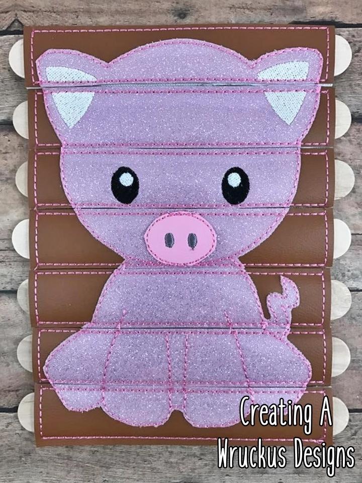 Pig Stick Puzzle