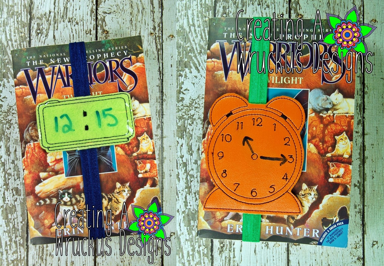 Clock Reading Tracker Book Band