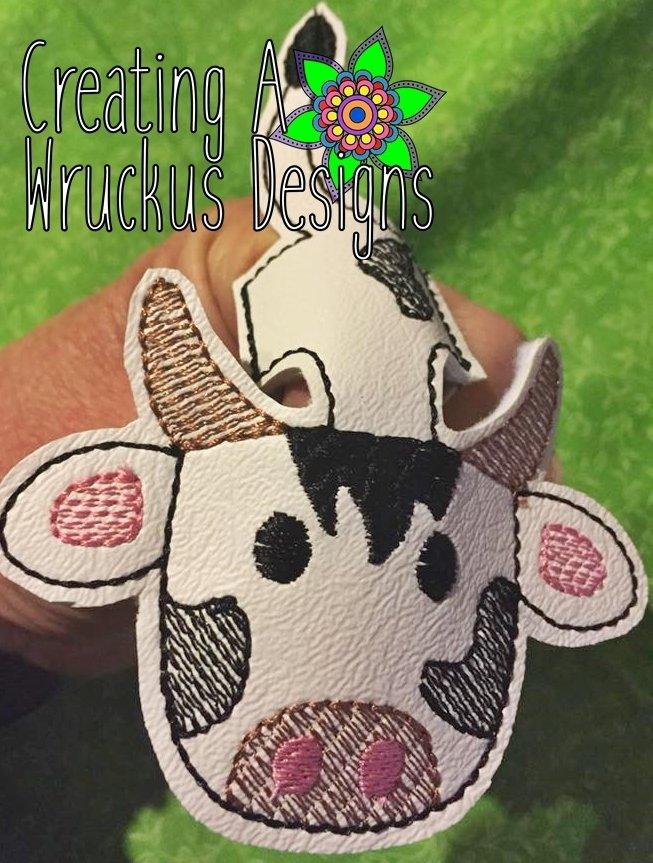 Cow Finger Friend