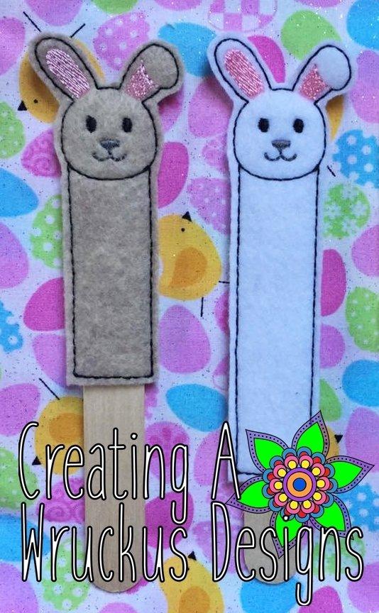 Bunny Stick Bookmark