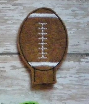 Football Pencil Topper