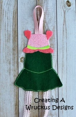 Mermaid Dress Bow Holder