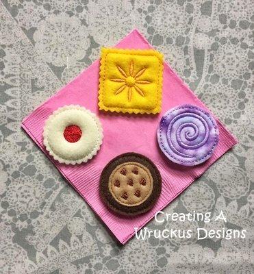 Tea Cookies Set 1