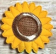 Sunflower Feltie