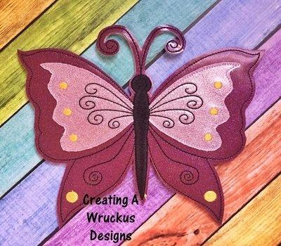 B is for Butterfly Super Sized Feltie