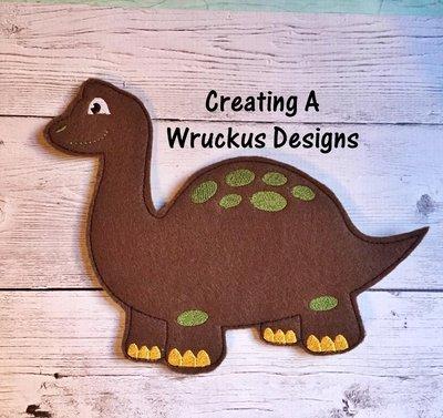 D is for Dinosaur Super Sized Feltie
