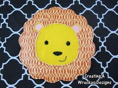 L is for Lion Super Sized Feltie