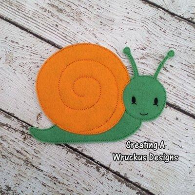 S is for Snail Super Sized Feltie