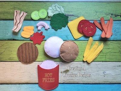 Burger Deluxe Set