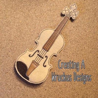 Violin Super Sized Feltie