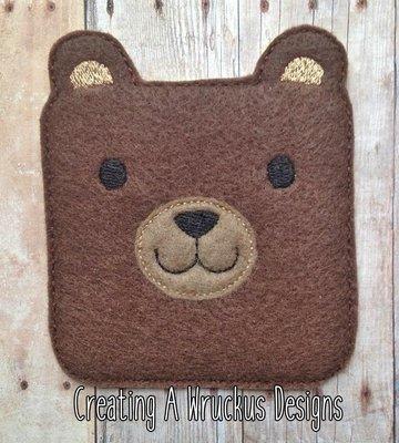 Square Bear Super Sized Feltie