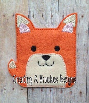 Square Fox Super Sized Feltie