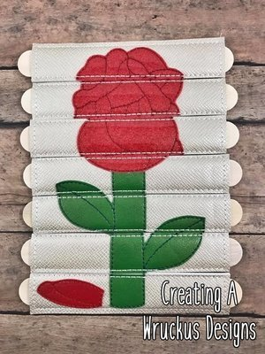 Rose Stick Puzzle