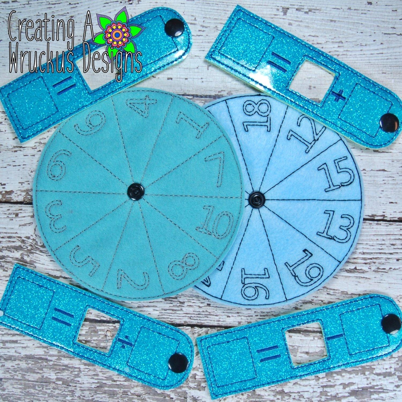Math Wheel Set