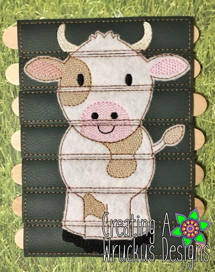 Cow Stick Puzzle