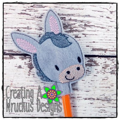 Donkey Pencil Topper