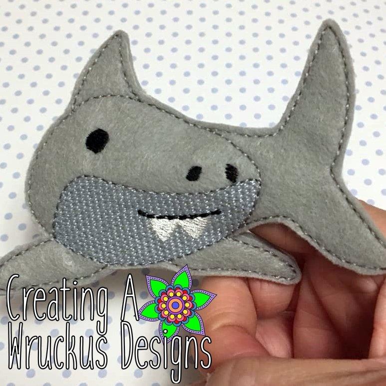 Shark Finger Friend