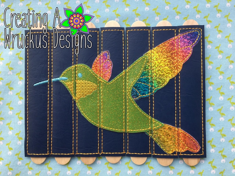 Hummingbird Stick Puzzle