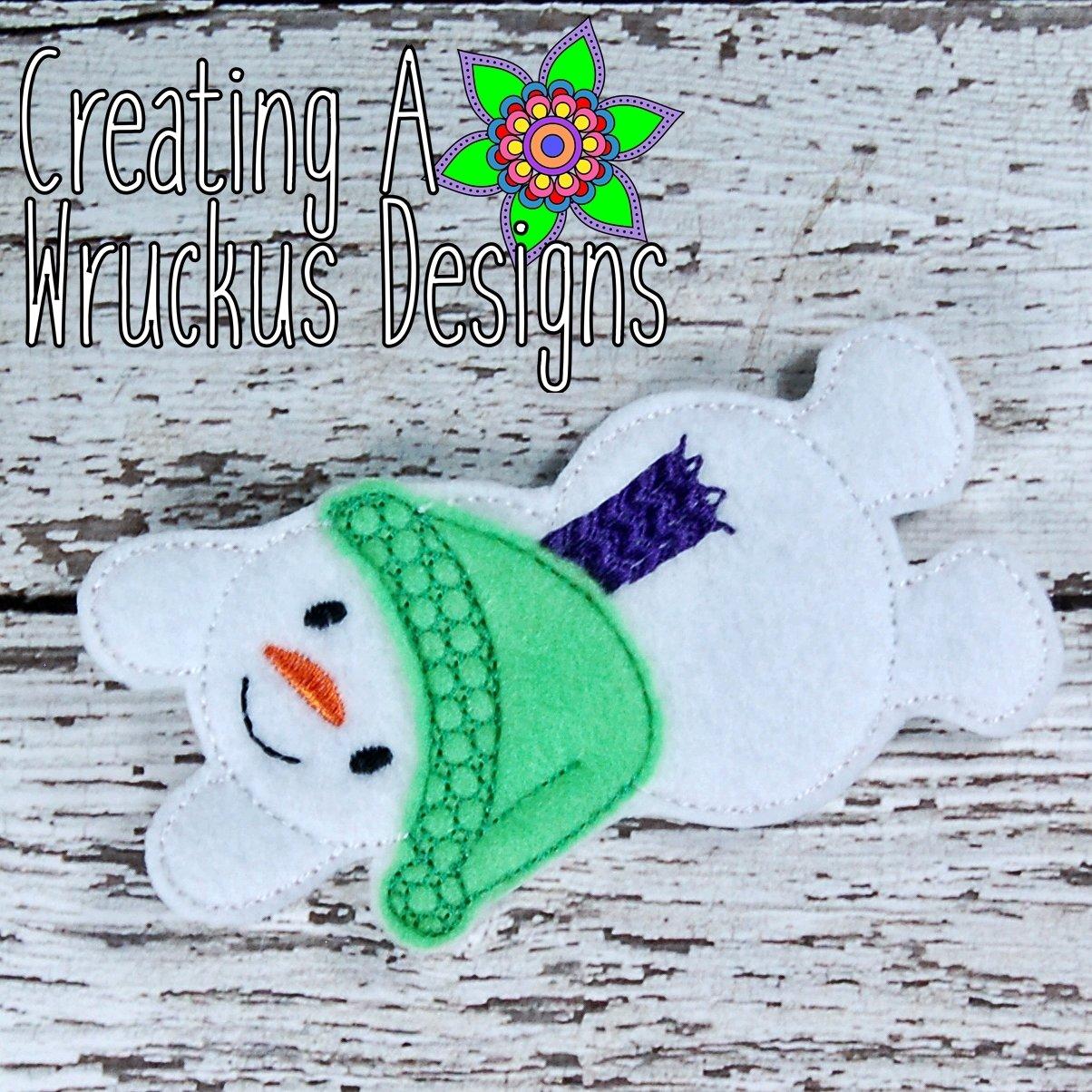 Snowman Finger Friend