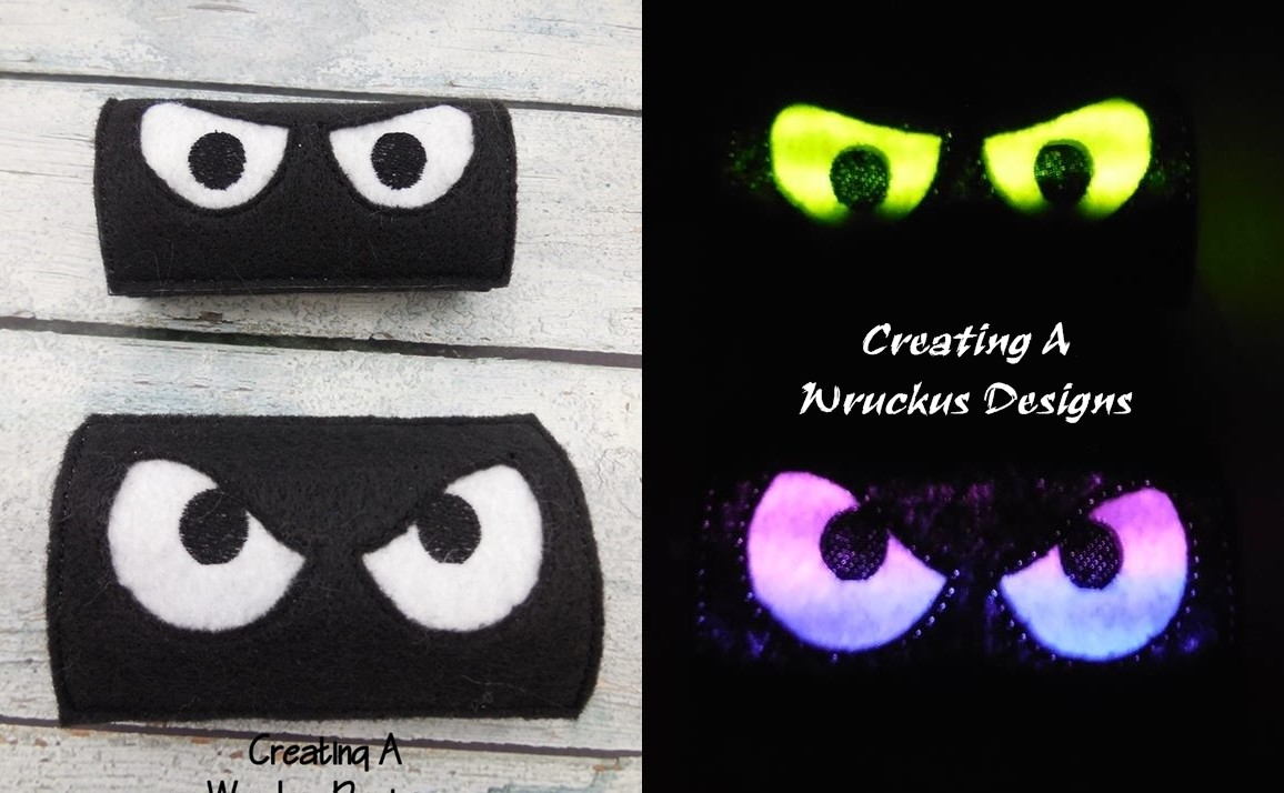 Spooky Eye Toilet Roll Set 1