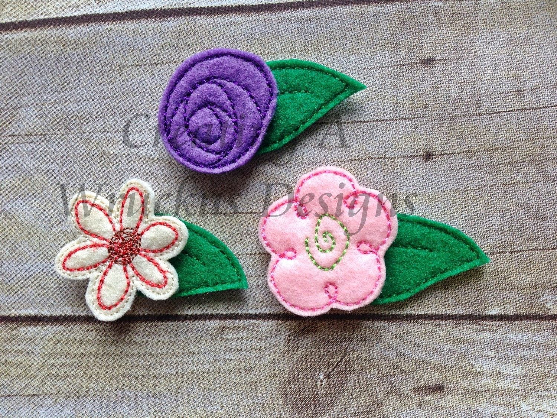 Doodle Flower Felties