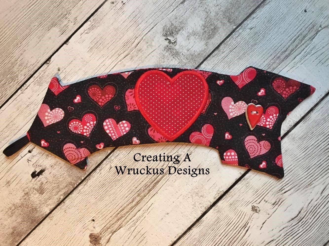 Heart & Arrow Coffee Wrap- 6x10 HOOP ONLY