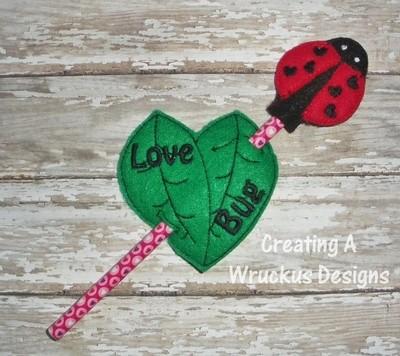 Love Bug Pencil Set