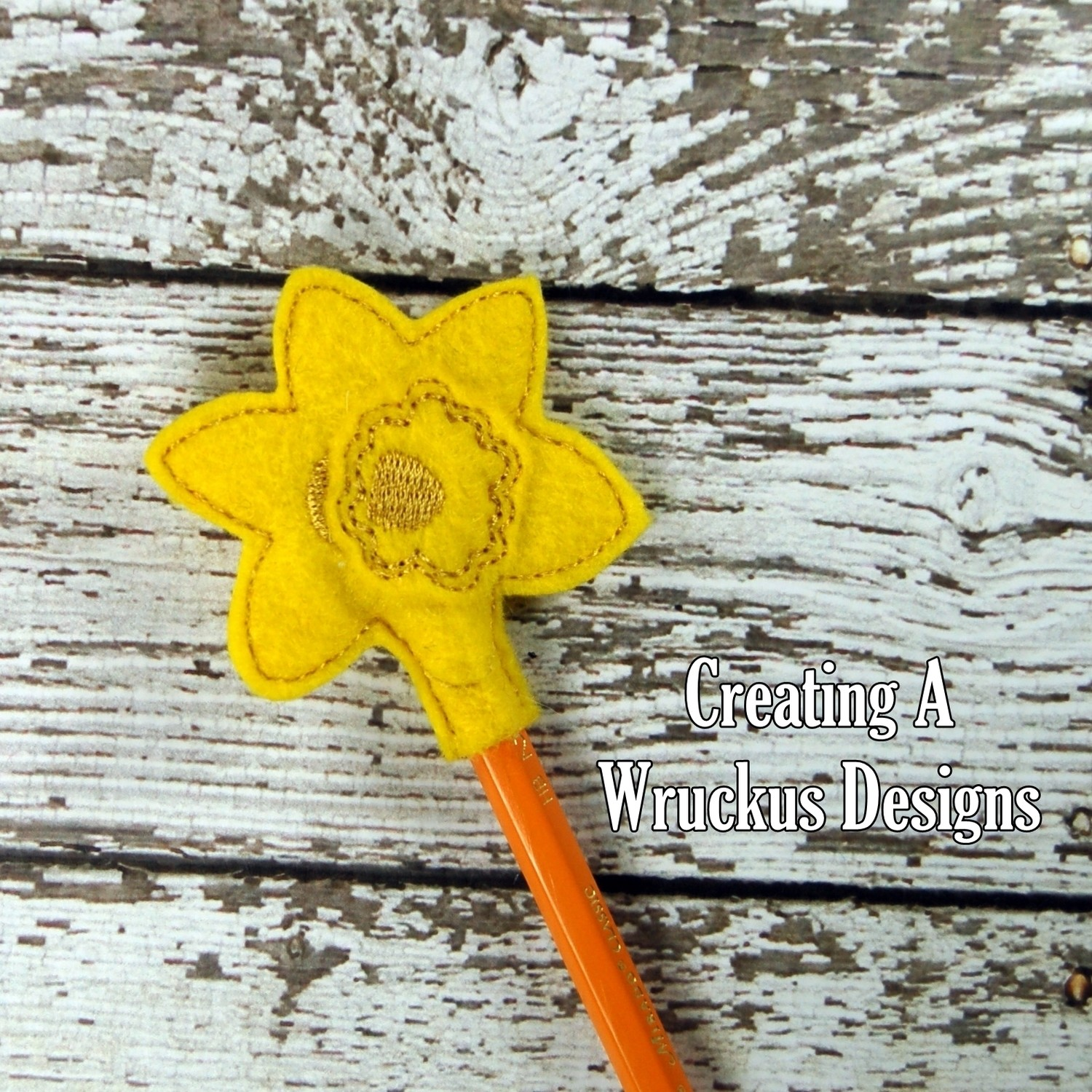 Daffodil Pencil Topper