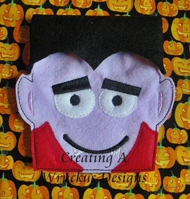 Vampire Flap Halloween Bag