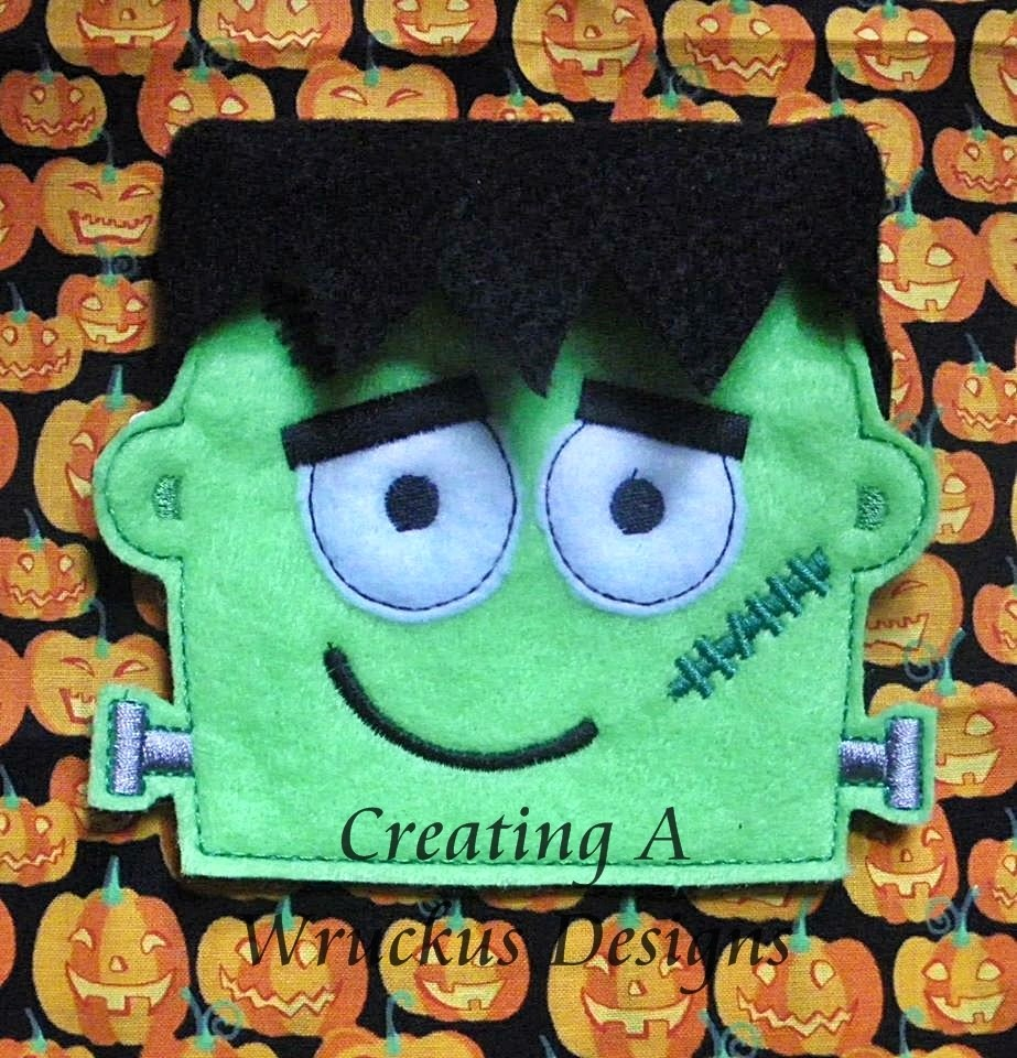 Frank Flap Halloween Bag