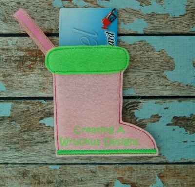 Boot Card Holder