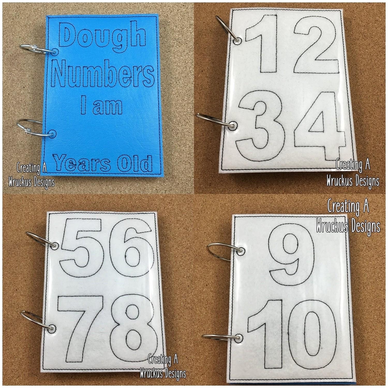 Dough Number Book