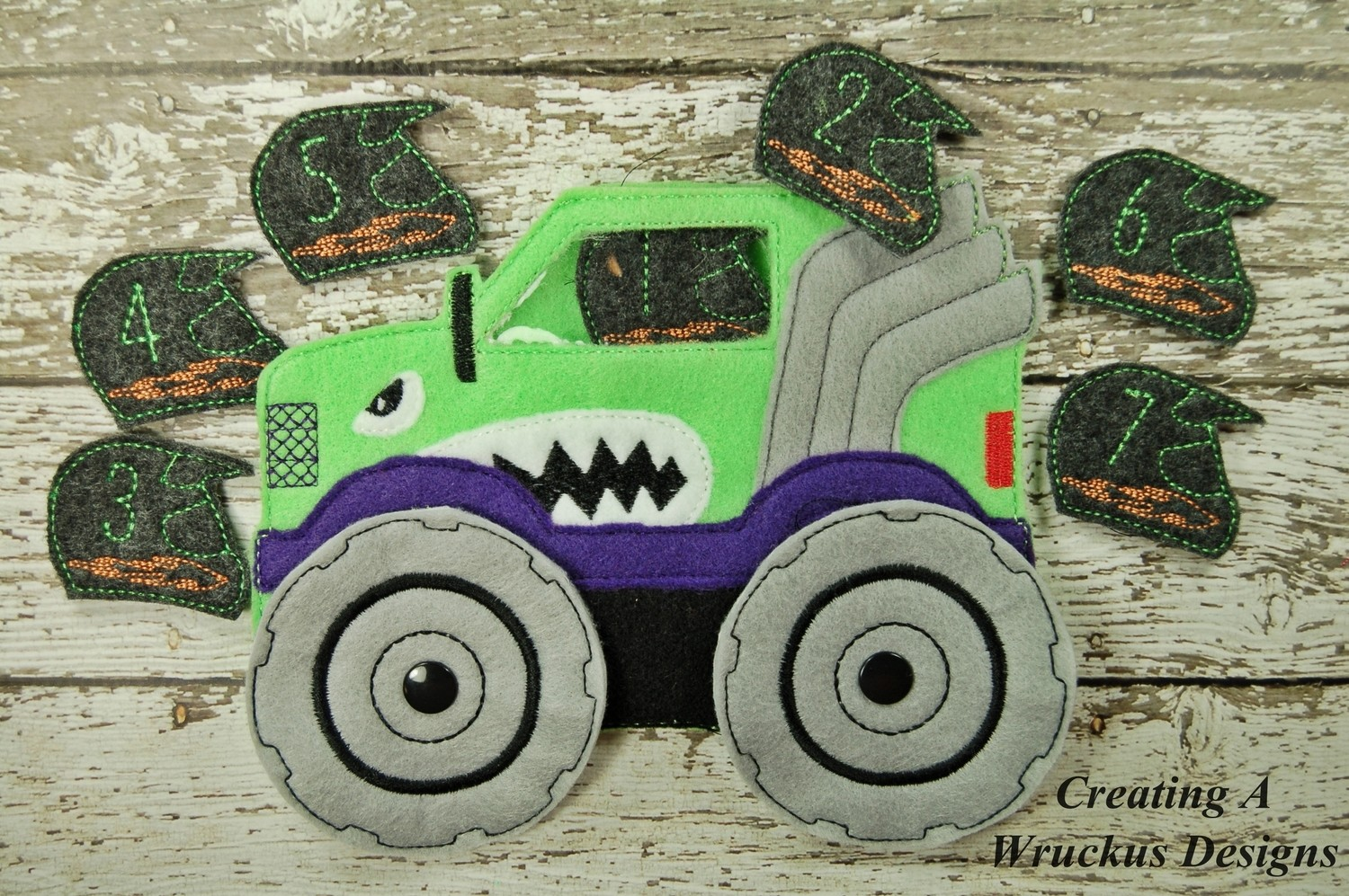 Monster Truck Counting