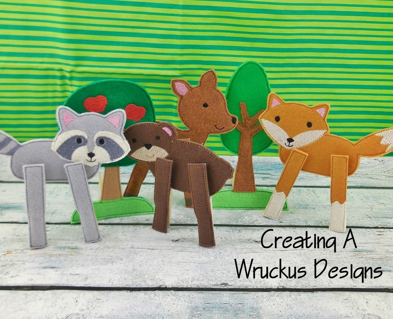 Woodland Clothespin Set 1
