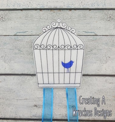 Bird Cage Bow Holder