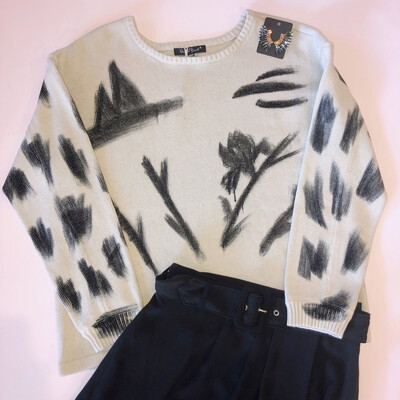 Abstract Sweater