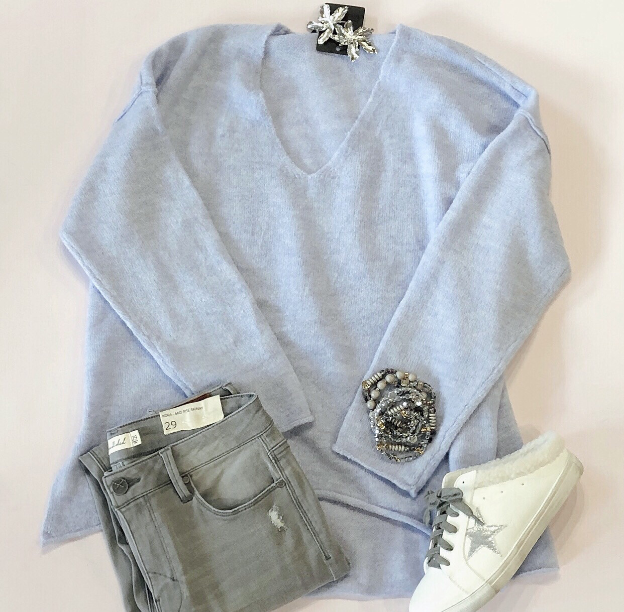 Lavender Dreams Sweater