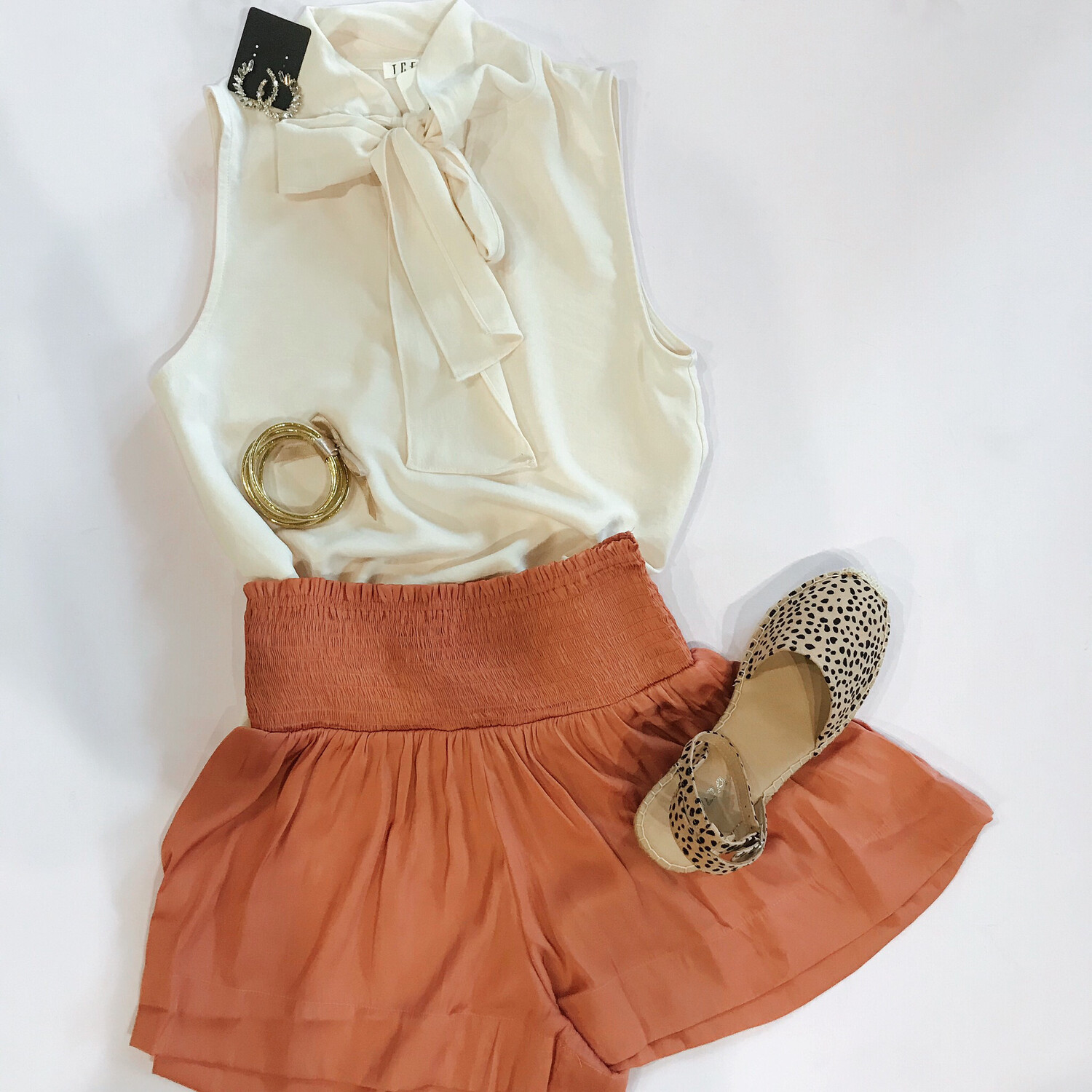 Terra-cotta Silky Short