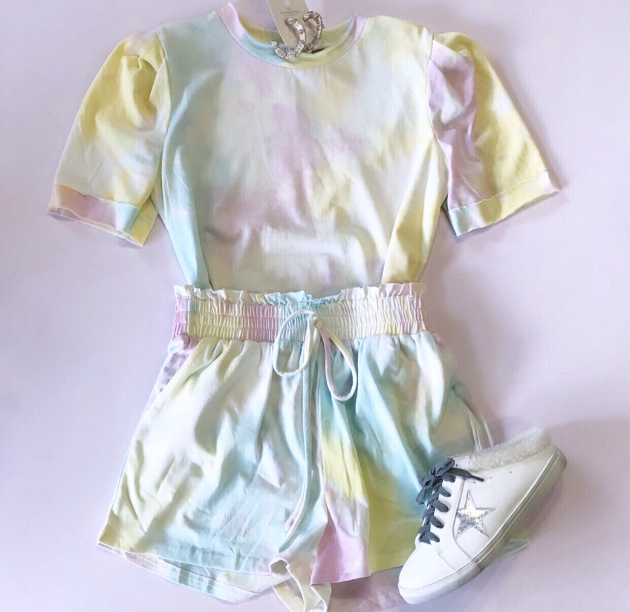 Tie Dye Short Set