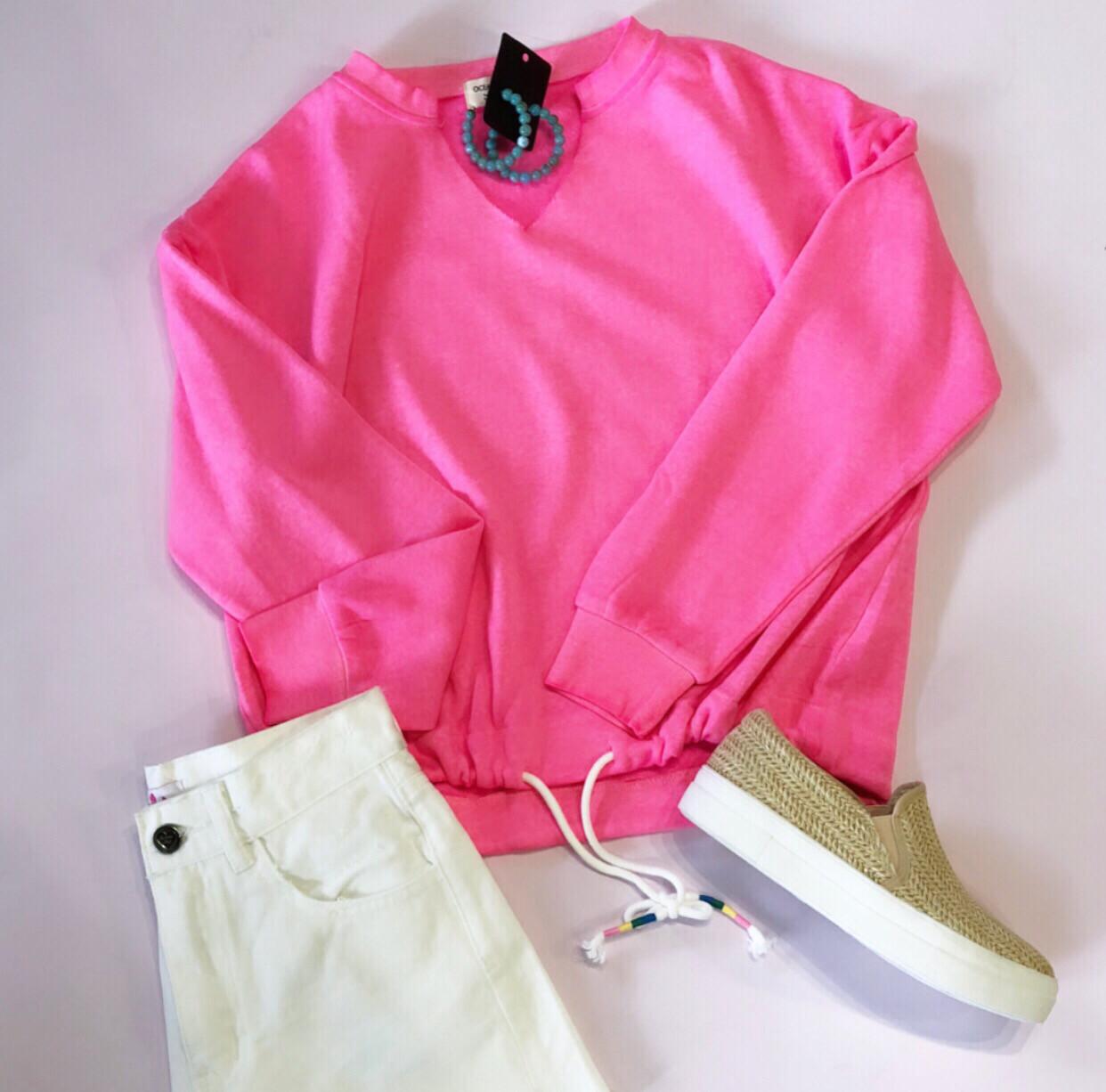 Neon Beach Sweatshirt