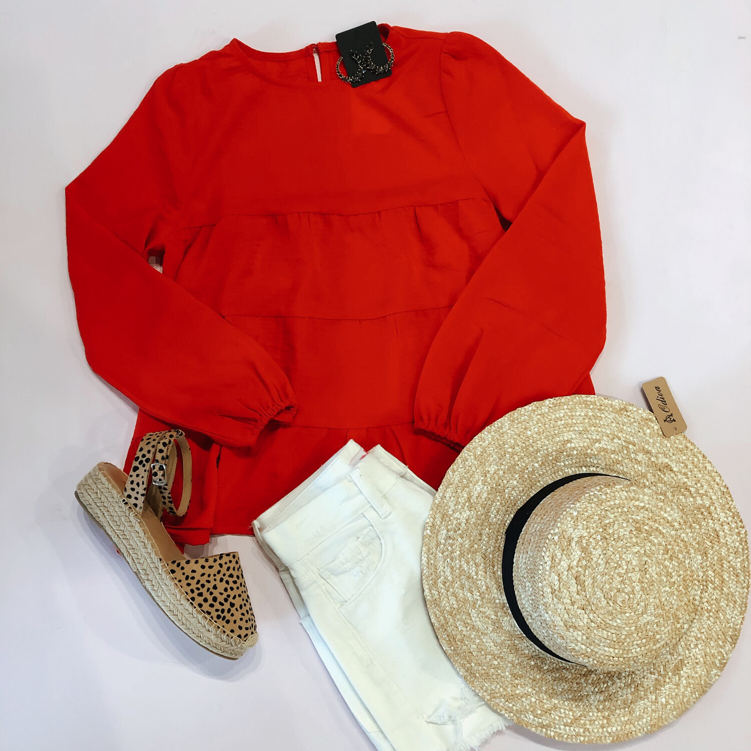 Red Swing Top