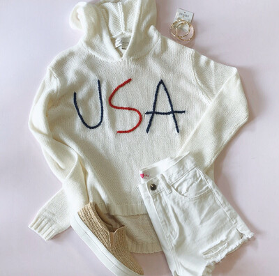 USA Beach Sweater