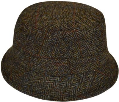Harris Tweed Fishing Hat