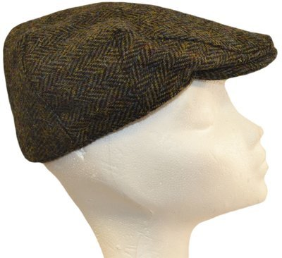 f2b84d37236 Harris Tweed Flat Cap