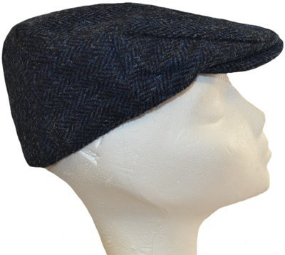 2398c4c5b6f98 Harris Tweed Flat Cap