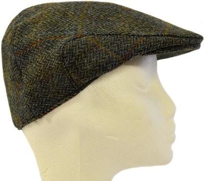 ff2a89c4225b Harris Tweed Flat Cap | Green HB w/OC PJ