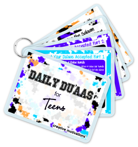 Daily Duaas for TEENS Card Set