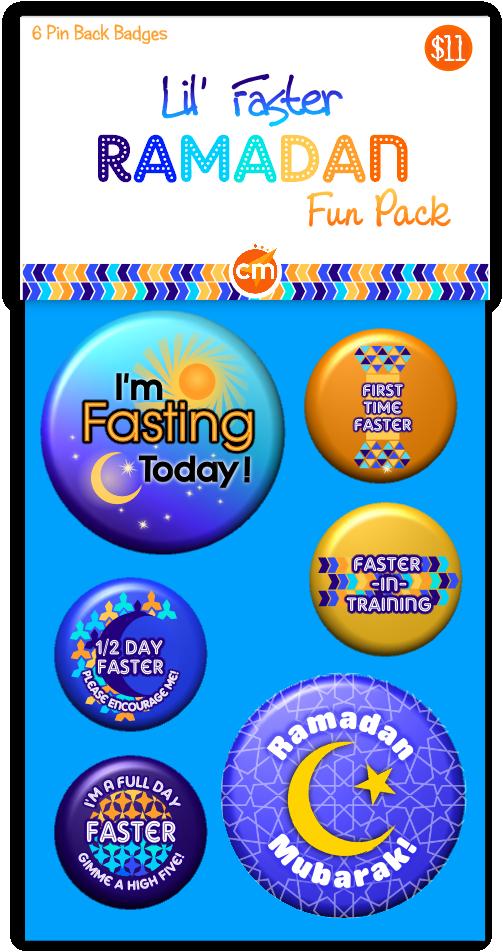Lil Faster Ramadan Fun Pack