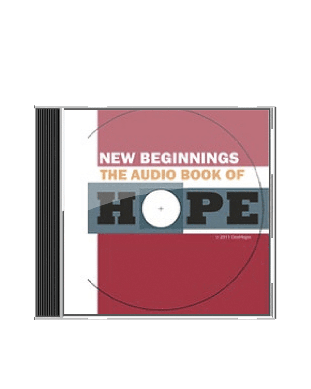 The Audio Book of Hope CD