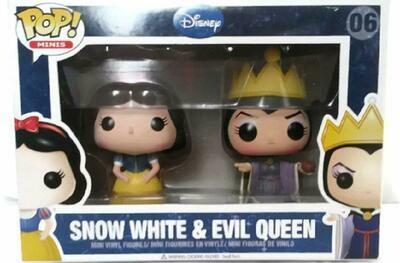 Disney Snow White & Evil Queen - Funko Pop! Minis